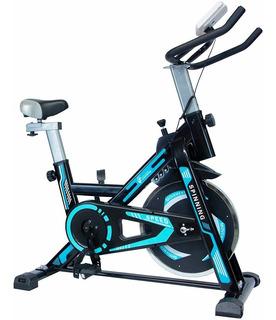 Bicicleta Spinning Fija 13 Kg Cardio Centurfit Profesional