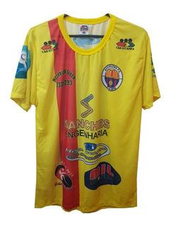 Camisa Cer Estampa Barcelona Fc Ii 2020 Vilhena - Rondônia