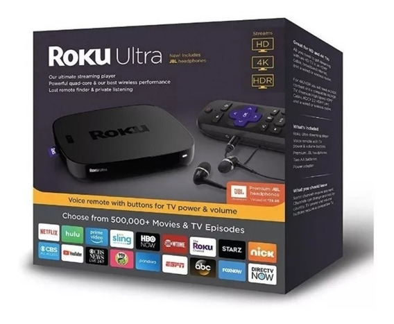 Reproductor Streaming Roku Ultra