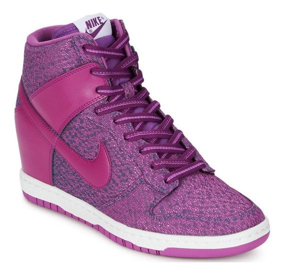 Tênis Nike Wmns Dunk Sky High Txt Purple Sneaker Feminino