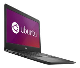 Notebook 14 Dell Inspiron 3481 Intel Core I3 7020u 4gb Ddr4 1tb Hdd Hdmi Usb 3.1 Linux Ubuntu Gtia Oficial Cuotas