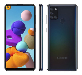 Smartphone Samsung Galaxy A21s 64gb 4 Câmeras 5000mah