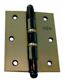 Dobradiça Mgm 3 Unidades 3 Polegadas Com Parafusos Bd