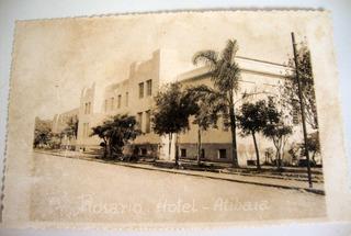 Cartão Postal Atibaia Sp Rosário Hotel 1945