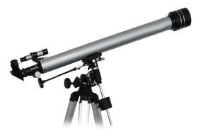 Telescópio Astronômico F90060m Refletor Ampl 675x Promoção