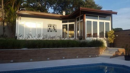 Casa Com 3 Dormitórios À Venda, 378 M² Por R$ 2.500.000,00 - Condomínio Marambaia - Vinhedo/sp - Ca2361