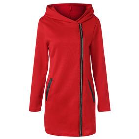 6ce522b5aa4 Abrigo Rojo Mujer - Vestuario y Calzado en Mercado Libre Chile