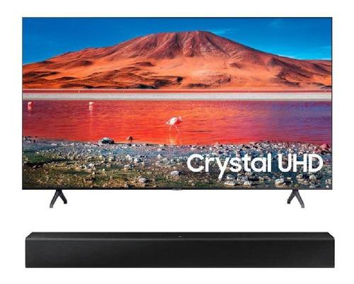 Televisor + Barra Samsung 50  Un50tu7000 Crystal 4k Bluetoot