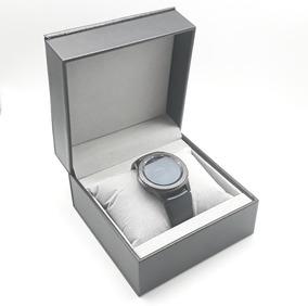 Caja Relojera Tacto Piel Porta Reloj Almohadilla Estuche Joy