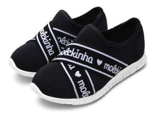 Tênis Molekinha Menina Kids Lycra Viena 2515.213 Super Leve