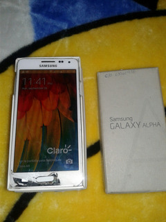 Samsung Galaxy Alpha 5 De 32 Gb Blanco