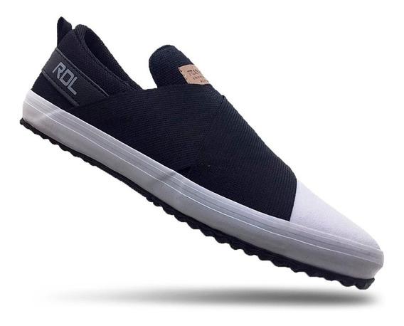 Tenis Masculino Sneaker Elástico 33 Ao 45