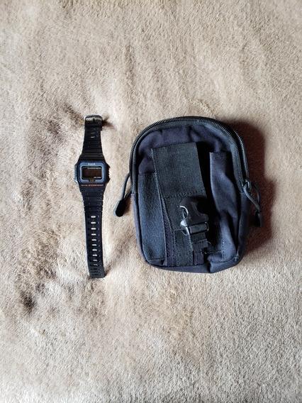Relógio Aqua + Bolsa De Acessórios