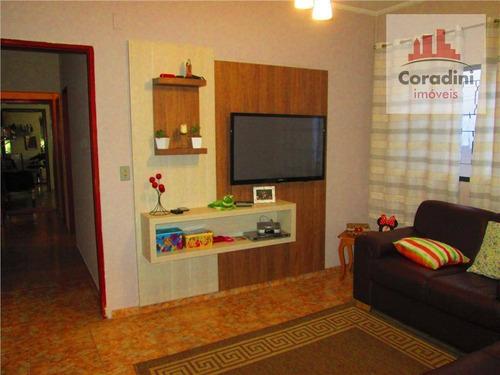 Imagem 1 de 11 de Casa Residencial À Venda, Jardim Marajoara, Nova Odessa - Ca0180. - Ca0180