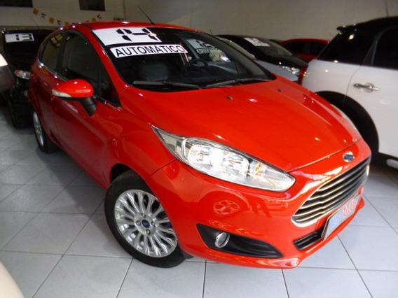 Fiesta 1.6 Aut Titanium 2014 Vermelho