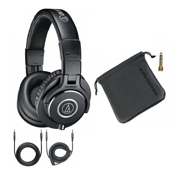 Fone De Ouvido Profissional Audio Technica Ath M40x C/ Bolsa