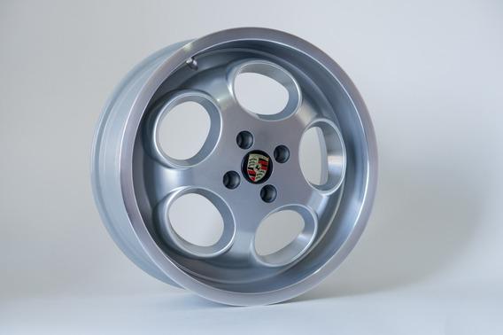 Rodas Porsche 17x6 4x100mm Chevette Gol Quadrado Euro Borda)