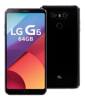 Smartphone Lg G6 Preto Tela 5.7 32gb 13mp Original 4g