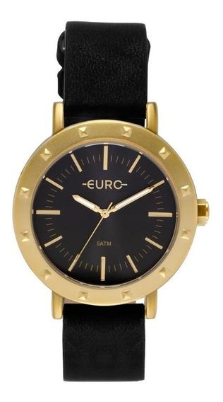 Relógio Euro Feminino Spike Fever Casual Dourado Eu2035ypi/2p