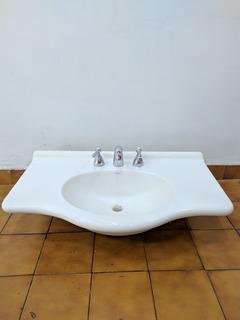 Lavamanos Pileta Original Ferrum Para Baño Con Griferia