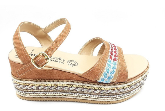 Sandalias Dama Huarache Calzado Zapato Casual Chancla Bl2290