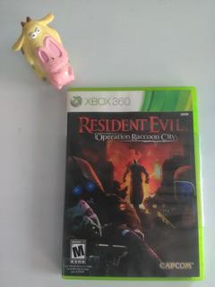 Resident Evil Operation Raccoon City Xbox 360 Garantizado