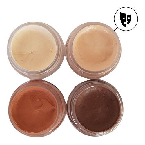 Imagen 1 de 2 de Base Cremosa Maquillaje Titi Mini Pote 5gr - Piel 2