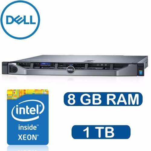 Servidor Dell R230 Xeon E3-1220 8gb 1tb Dvdrm Perc H330 1yr