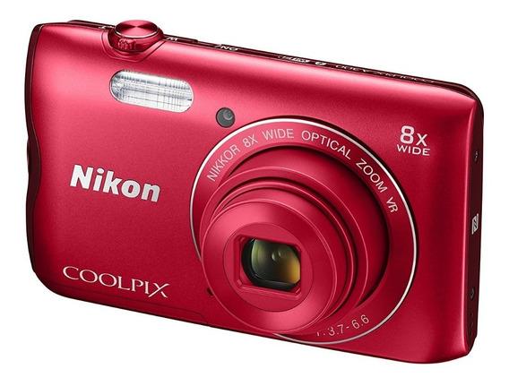 Cámara Nikon Coolpix A300 20 Mp Wifi + Gtía 6m Y Env Gratis