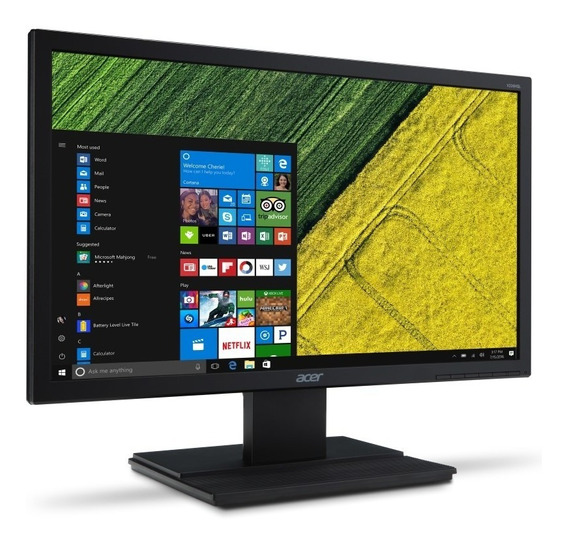 Monitor Led Acer 19.5 V206hql Vga E Hdmi