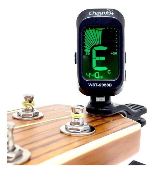 Afinador Clip Pinza Guitarra Violin Cherub Wst2058b - Oddity