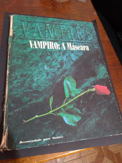 Livro De Rpg - Vampiro A Máscara 2º Edição - Devir - 1992