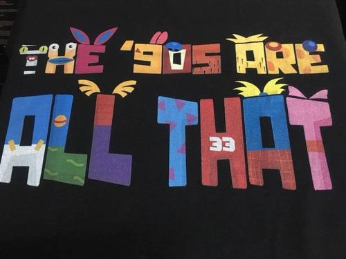 Imagen 1 de 3 de Nickelodeon 90s - Animacion - Polera- Cyco Records