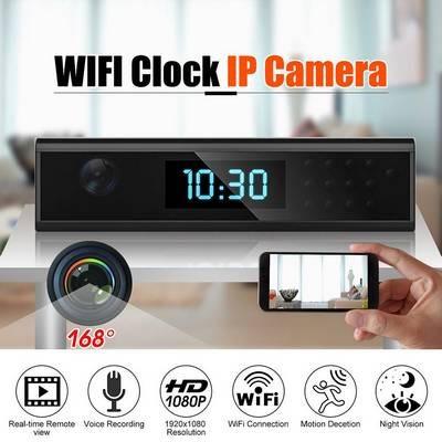 Reloj Camara Espía Wifi 1080p Graba Con Audio Nuevo Modelo