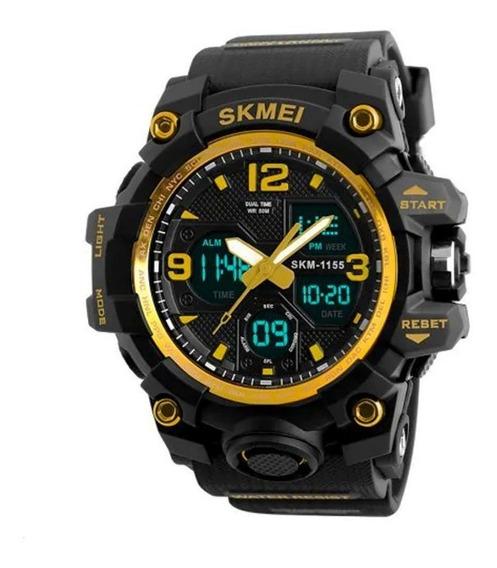 Relógios Masculinos Skmei Digital Analógico 1155b Original