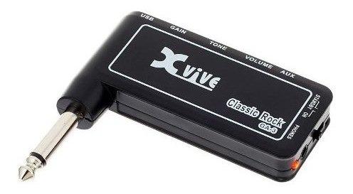 Amplificador Guitarra Auriculares Xvive Ga-3 Distorsio Cuota