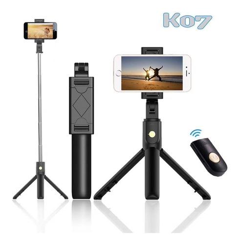 Palo Selfie Stick Bluetooth Con Tripode Integrado K10