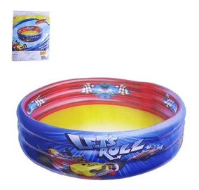 Piscina Inflavel Infantil 3 Aneis Mickey Mouse Disney 90x30