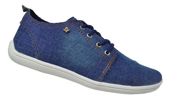 Tênis Feminino Cravo&canela - Jeans