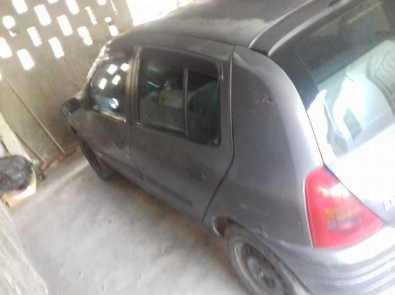Renault Clio 1.0 16v 4portas Cinza