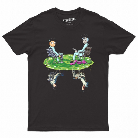 Playera Rick And Morty Breaking Bad Stark Cool