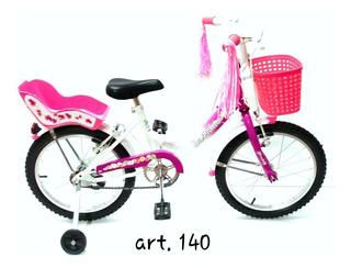 Bicicleta Bassano Full Niña Rodado 16