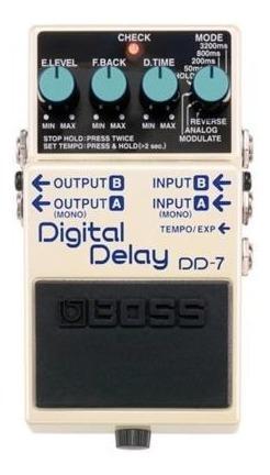 Pedal Boss Dd7 - Digital Delay + Nf