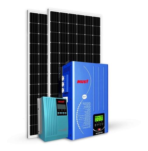 Kit Energia Solar Off-grid - 0,76kwp - 2 Módulos
