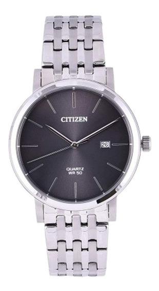 Reloj Citizen Bi5070-57h Acero Plateado/gris Oscuro Hombre