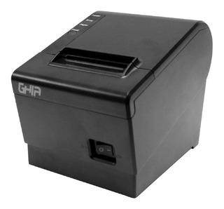 Impresora Miniprinter Termica Ghia Gtp581 Negra 58mm Usb