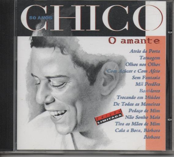 Cd Chico Buarque 50 Anos - O Amante - Semi Novo Frete R$ 10
