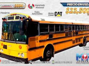 Autobus Escolar De Pasajeros Thomas 2004, Camiones En Venta
