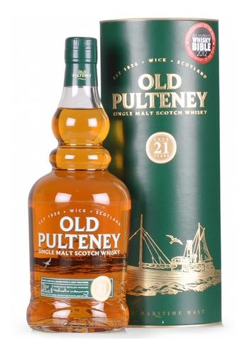 Whisky Single Malt Old Pulteney 21 Años 46% Origen Escocia.