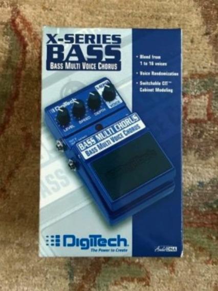 Vendo O Cambio Pedal De Bajo Digitech Xseries Bass Chorus